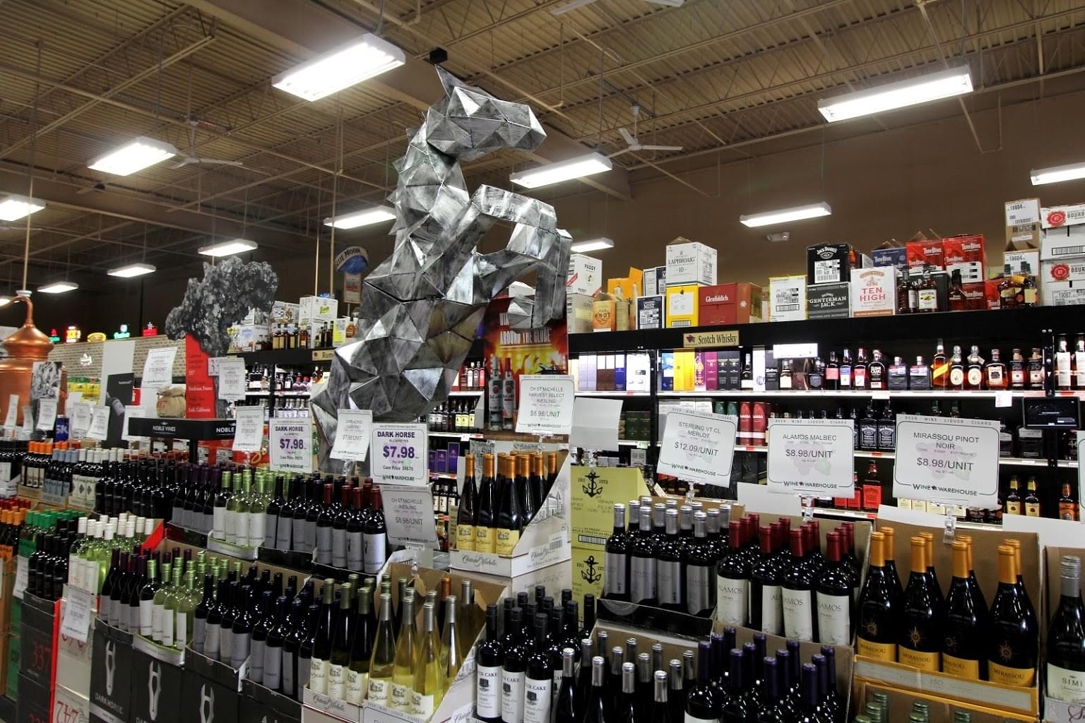 Wine Warehouse of Mantua, NJ – See-Inside Wine Store