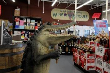 Wine Warehouse of Sicklerville, NJ Liquor Store alligator crocodile