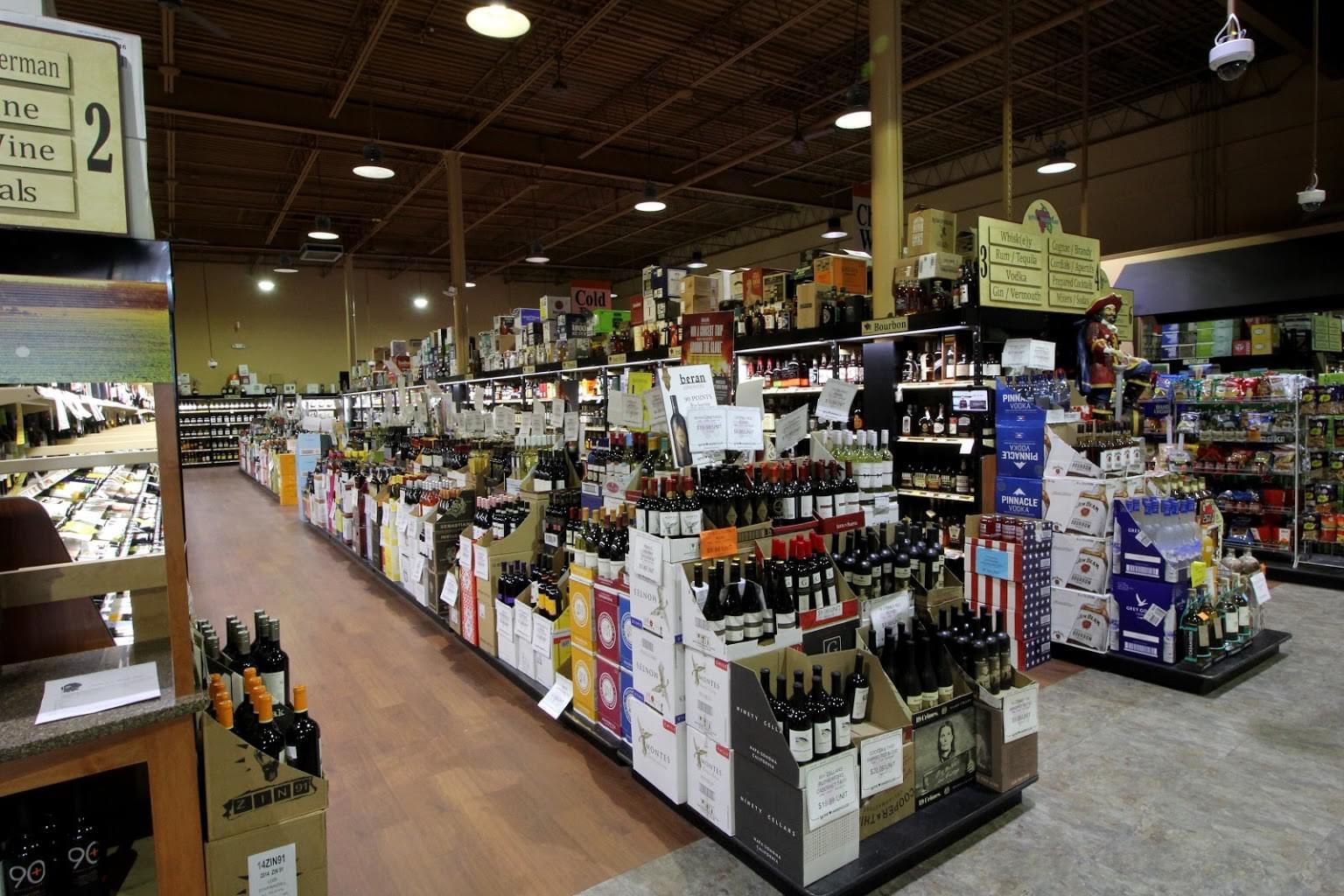 Wine Warehouse of Voorhees, NJ – See-Inside Liquor Store