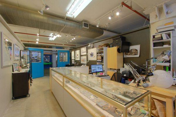 Dejan Studio Jewelry Alexandria, VA Jewelry Store Workbench area