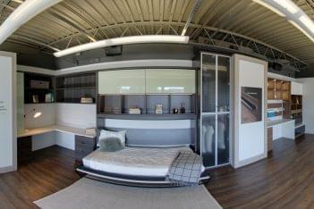 California Closets Annapolis, MD Interior Designer Murphy bed