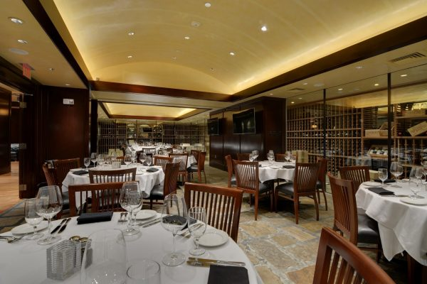 Del Frisco's Double Eagle Steak House Charlotte, NC Restaurant cellar dining area