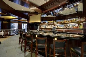 Del Frisco's Double Eagle Steak House Charlotte, NC Restaurant upper level bar
