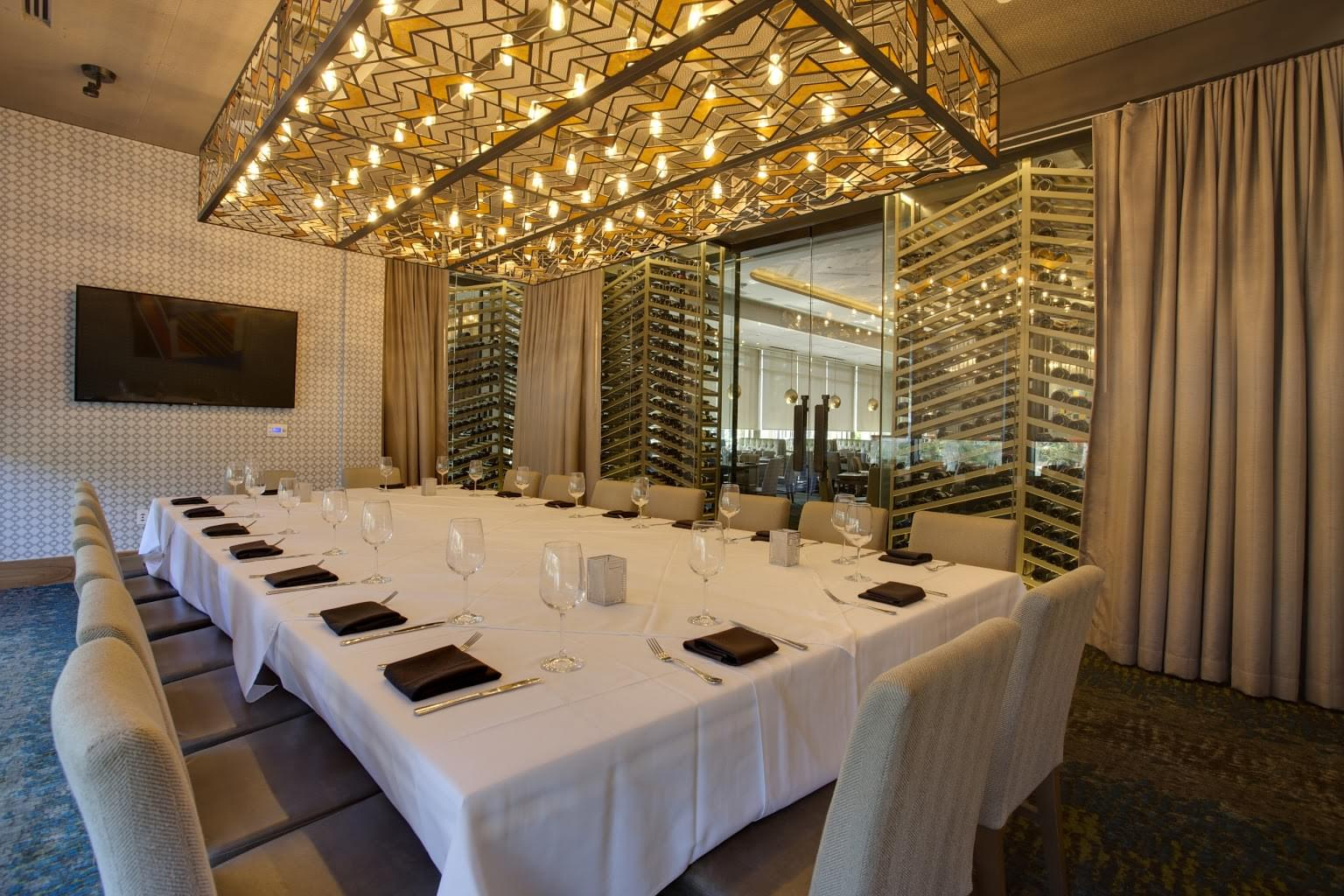 Del frisco 39 s double eagle steak house orlando fl see for Best private dining rooms orlando