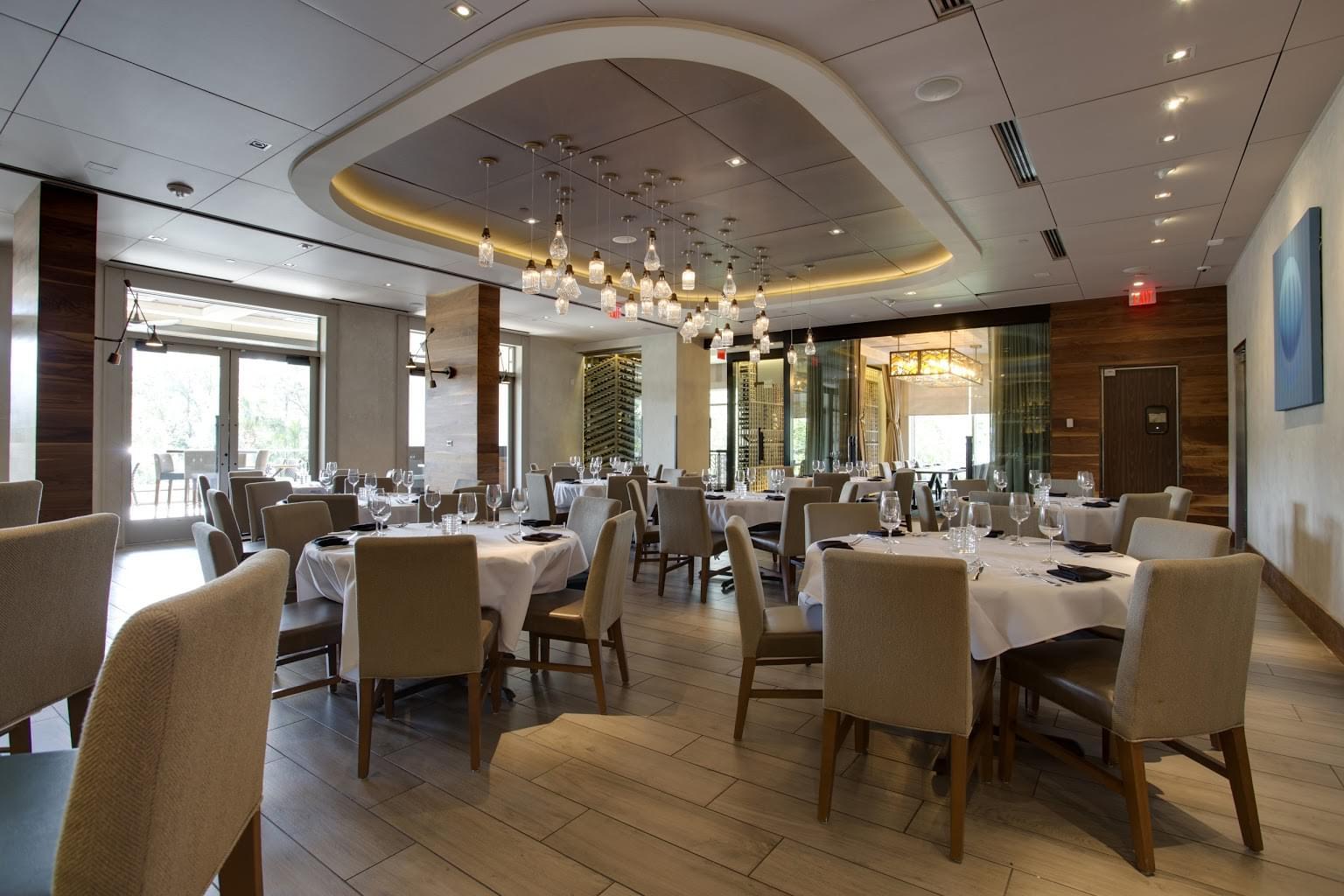 Del Frisco's Double Eagle Steak House Orlando, FL Restaurant upper level dining area