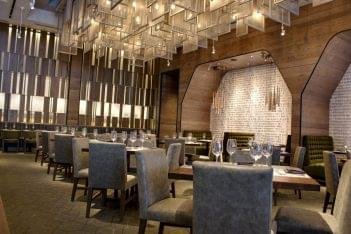 Del Frisco's Double Eagle Steak House Restaurant Plano, TX dining area