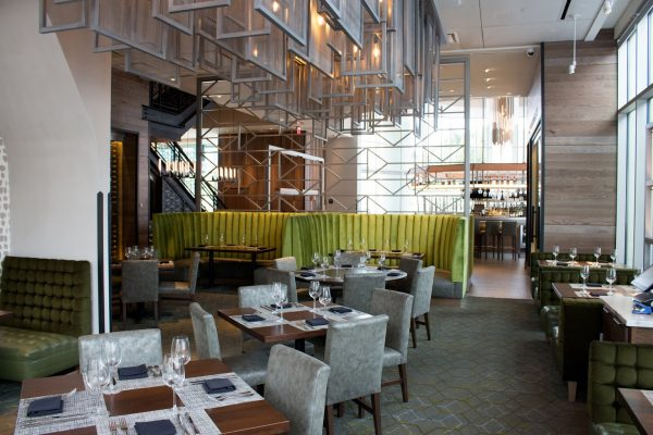 Del Frisco's Double Eagle Steak House Restaurant Plano, TX table seating