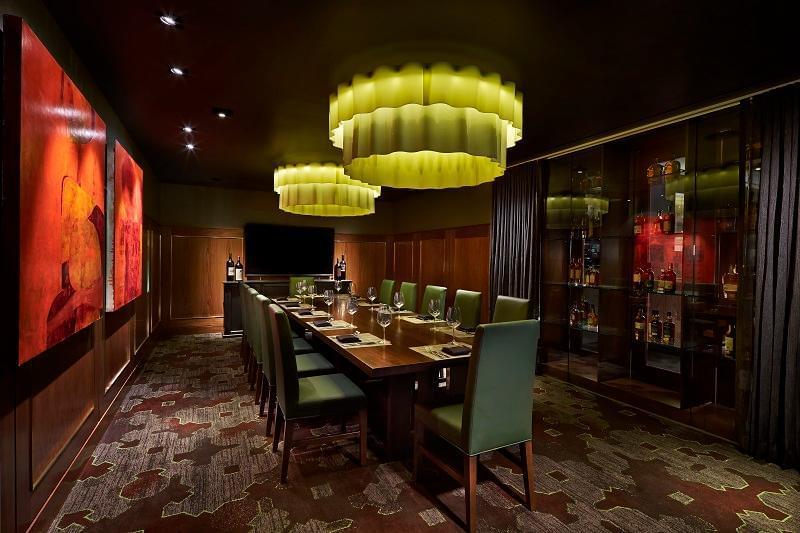 Del Frisco's Double Eagle Steak House downtown center city Washington, DC Restauarant private room