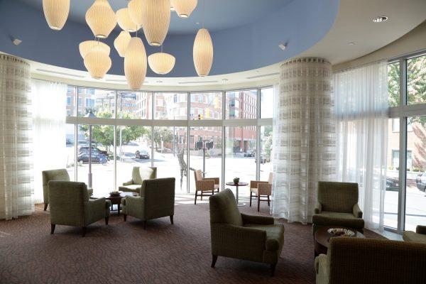 Hilton Garden Inn Alexandria Old Town Alexandria, VA Hotel reading room