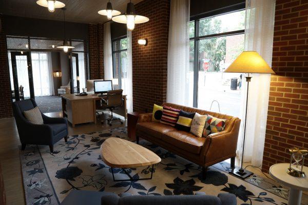 Hotel Indigo Old Town Alexandria, VA Hotel lobby sitting area