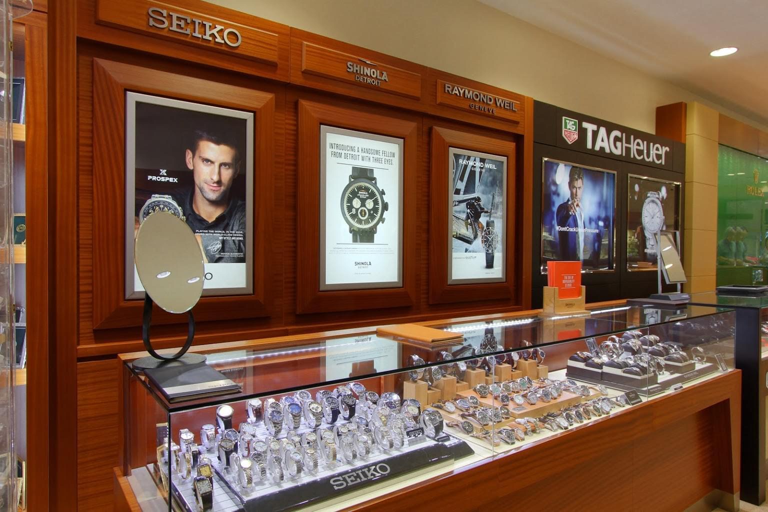 Kings Jewelry Alexandria, VA Jewelry Store Watch counter