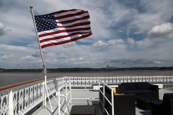 Potomac Riverboat Company Alexandria, VA Cruise Line Company flag