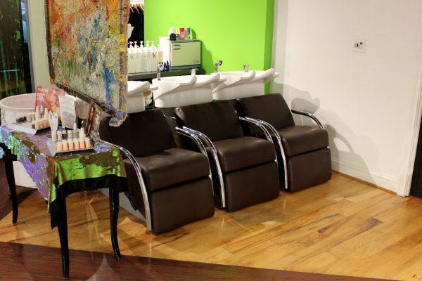 Salon de ZEN Alexandria, VA Hair Salon washing stations