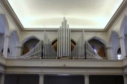 St. Paul's Episcopal Church Alexandria, VA organ pipes
