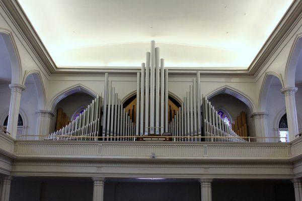 St. Paul's Episcopal Church Alexandria, VA organ pipes