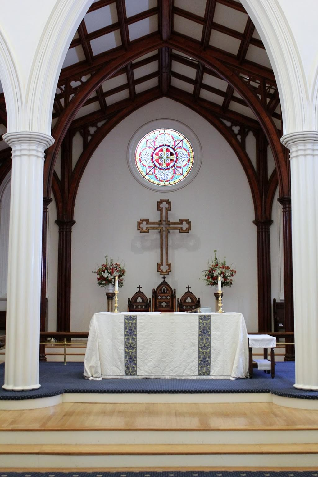 St. Paul's Episcopal Church – Alexandria, VA – See-Inside Place of Worship