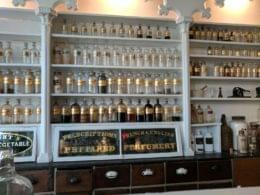 Stabler-Leadbeater Apothecary Museum Alexandria, VA jars