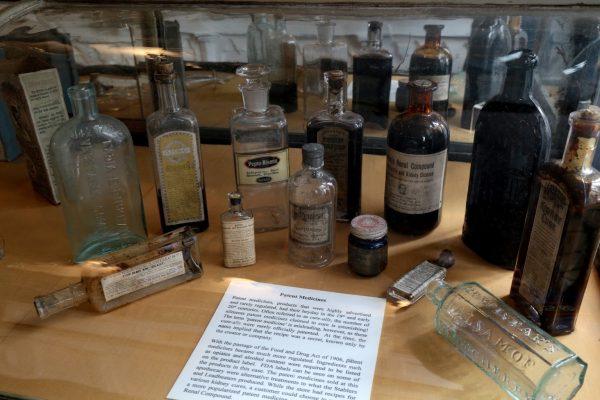 Stabler-Leadbeater Apothecary Museum Alexandria, VA medicine tubes