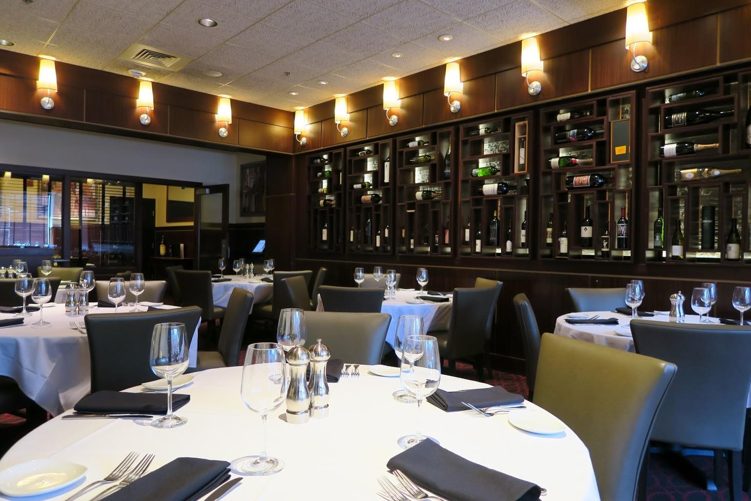 Sullivan's Steakhouse Baltimore, MD Steak House Restauarant dining area