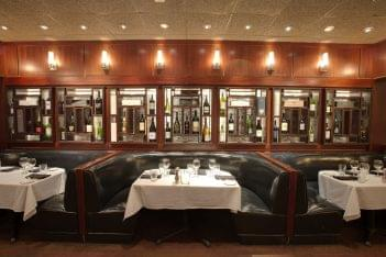 Sullivan's Steakhouse Raleigh, NC Steak House Restauarant booth seating