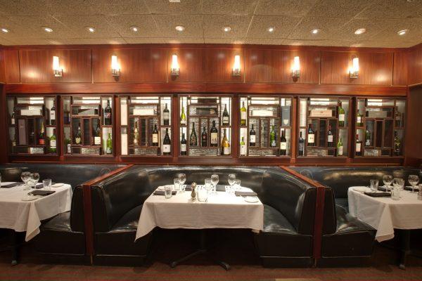 Sullivan's Steakhouse Raleigh, NC Steak House Restauarant booth seating