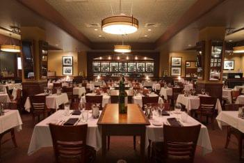 Sullivan's Steakhouse Raleigh, NC Steak House Restauarant main dining area