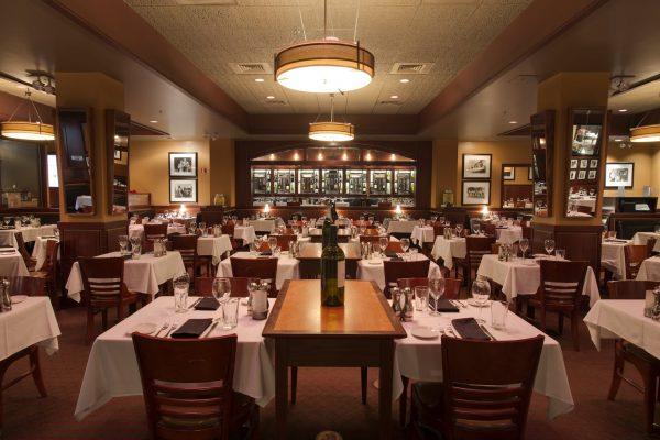 Sullivan's Steakhouse Raleigh, NC Steak House Restauarant main dining area