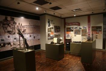 The Lyceum Alexandria, VA History Museum army military war exhibit