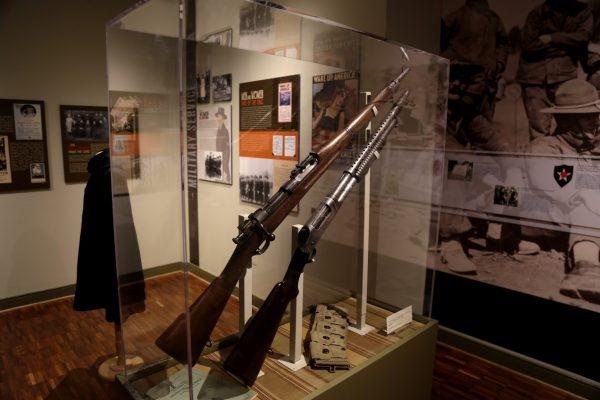 The Lyceum Alexandria, VA History Museum wwi rifle