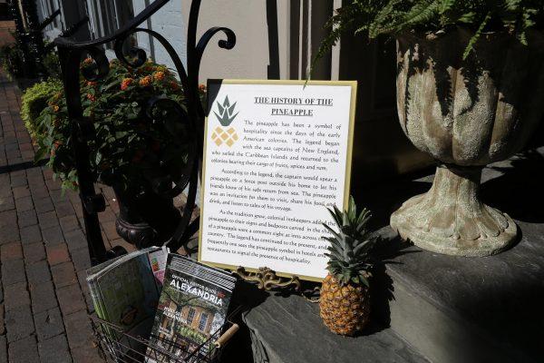 The Old Town Shop Alexandria, VA pineapple