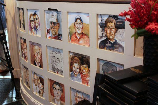 The Warehouse Alexandria, VA Restaurant caricatures