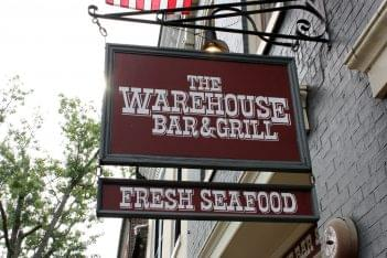 The Warehouse Alexandria, VA Restaurant sign