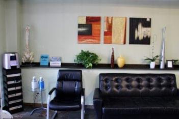lillieAnn's Massage & Skin Care Chicago, IL Massage Therapist waiting room