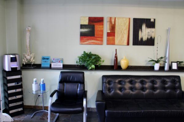 lillieAnn's Massage & Skin Care Chicago, IL Massage Therapist waiting room