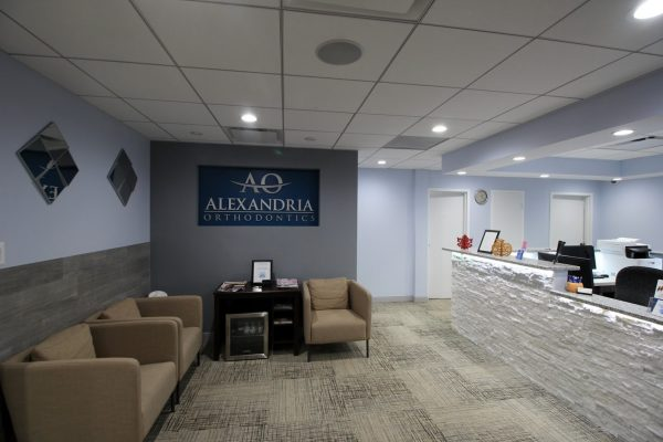Alexandria Orthodontics Alexandria, VA reception room