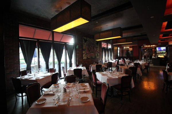 Blackstones Grille Southport, CT Steak House dining area