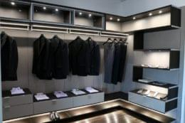 California Closets Conroe, TX Interior Designer suit rack
