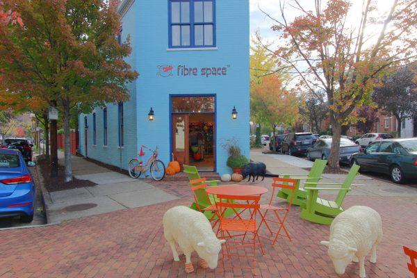 Fibre Space Alexandria, VA Yarn Store Exterior
