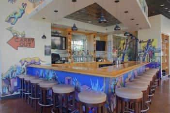 Lost Dog Cafe Alexandria VA pizzeria counter