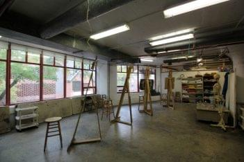 The Art League Alexandria, VA Art School classroom easels