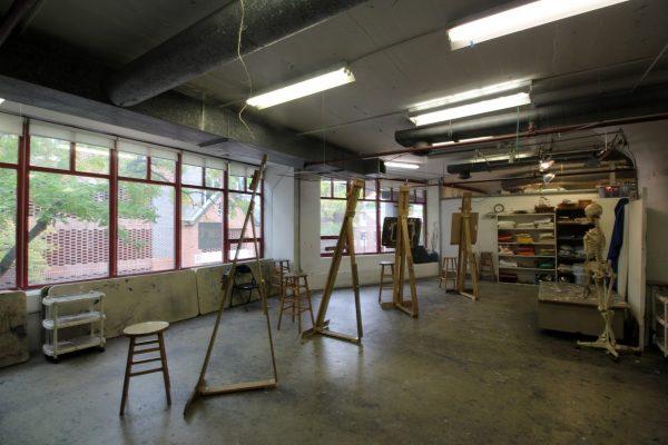 The Art League Alexandria, VA Art School classroom easels