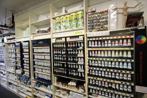 The Art League Alexandria, VA Art School store acrylic paint