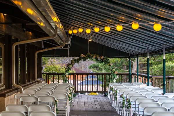 balcony wedding at Country Club Events by Marco's - Pennsauken, NJ - Banquet Hall