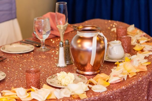 bridal table at Country Club Events by Marco's - Pennsauken, NJ - Banquet Hall