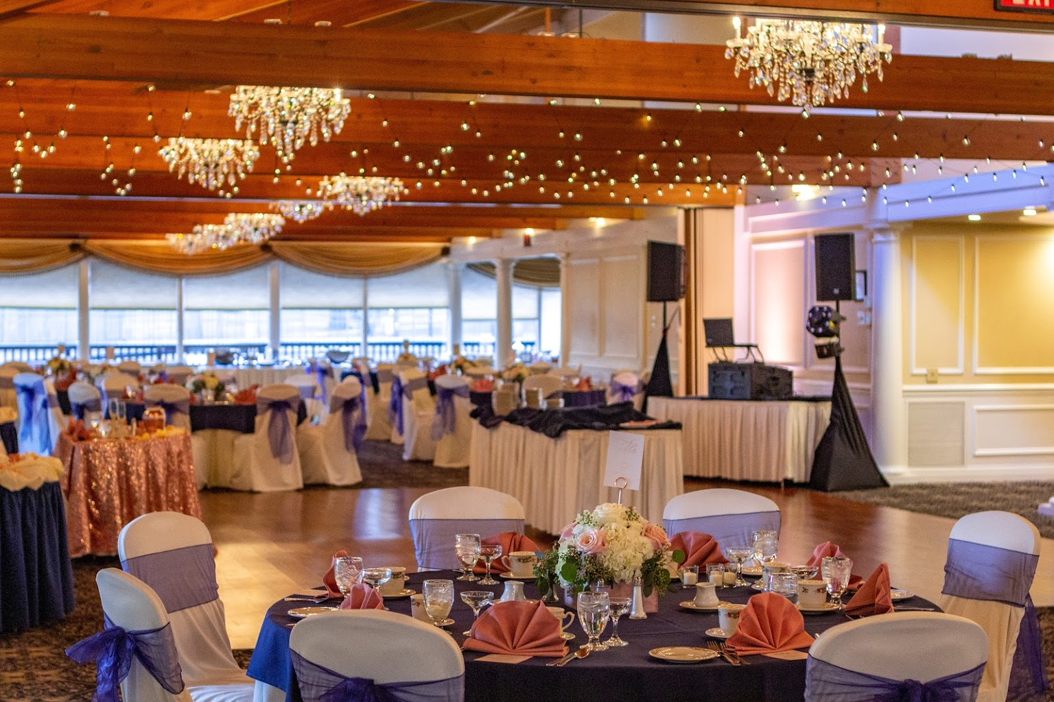 wedding setup at Country Club Events by Marco's - Pennsauken, NJ - Banquet Hall