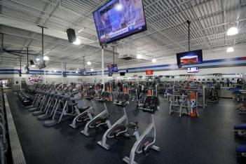 Crunch Fitness Gym West End, Henrico, VA ellipticals
