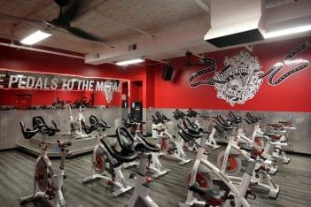 Crunch Fitness Gym West End, Henrico, VA spinning cycles