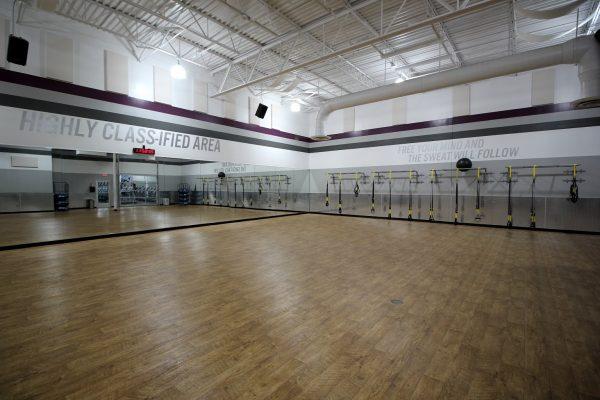 Crunch Fitness Gym at Glenside Dr, Henrico, VA multipurpose dance floor yoga