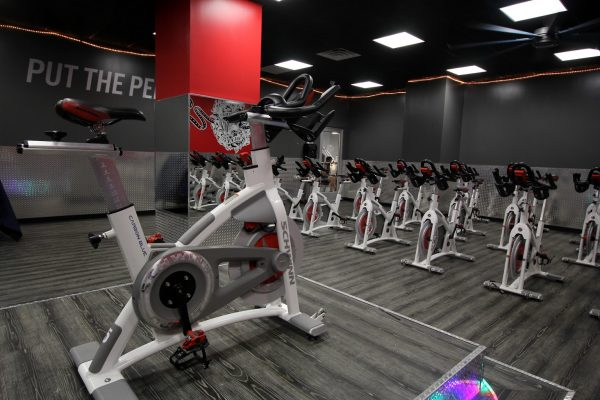 Crunch Fitness Gym at Scott's Addition Richmond, VA spinning
