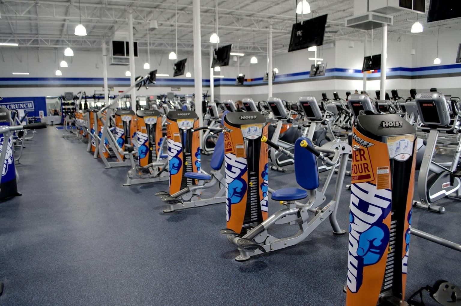 Crunch Fitness Gym in North Charleston, SC - Google ...
